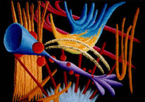 Ölmalerei, Ölfarben, Malerei, Abstrakt