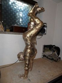 Bronzefigur, Plastik