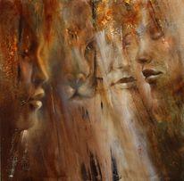 Gesicht, Menschen, Löwe, Malerei