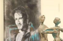 Mann, Skulptur, Bronze, Realismus