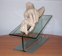 Skulptur, Familie, Realismus, Hand