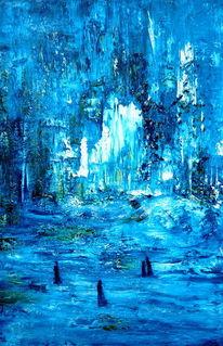 Malerei, Acrylmalerei, Abenteuerland,