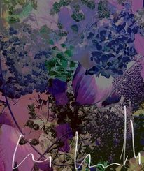 Traum, Stillleben, Blau, Blüte