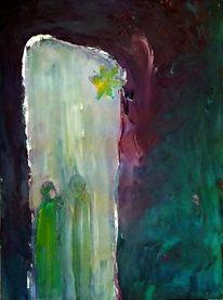Bethlehem, Symbol, Weihnachten, Malerei