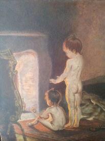 Frage, Malerei