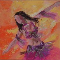 Bauchtanz, Malerei, Tanz
