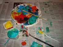 Teampainting, Kunsttherapie, Kreativ, Kunstworkshops