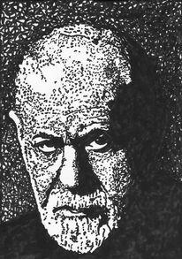 Freud, Freude, Crowley, Kritzelei