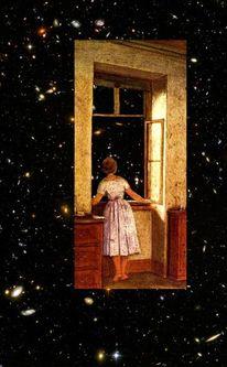 Traum, Wunderland, Fenster, Sehnsucht