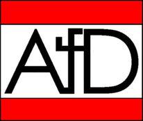 Logo, Rot schwarz, Tod, Asd