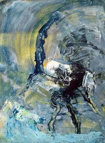 Mühsal, Wirken, Verschwinden, Malerei