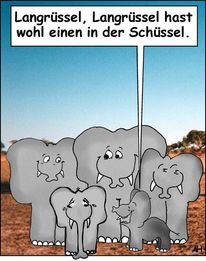 Evolutionstheorie, Elefant, Kindheit, Mutation