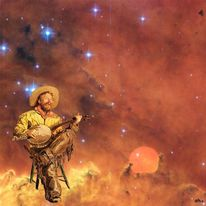 Lonesome cowboy, Pat woods, Eakins, Nasa