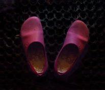 Blues, Lila, Schuhe, Gesang