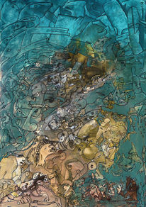 Leer, Chaos, Malerei,