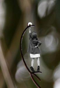 Versuchung, Fotografie, Kind, Regenperle