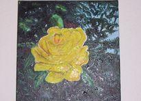 Häßliche rose, Ölmalerei, Malerei, Rose