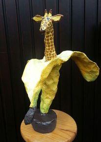 Giraffe gerda, Bremen, Scrap, Skulptur