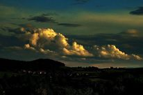 Dimension, Himmel, Abend, Wolken