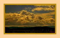 Dimension, Landschaft, Wolken, Himmel