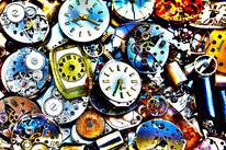 Uhr, Zeit, Zeiger, Fotografie