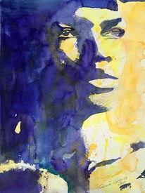 Portrait, Afrika, Gesicht, Mato