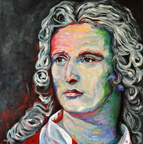 Zeitgenössische kunst, Acrylmalerei, Pop art, Schiller