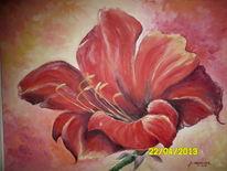 Malerei, Amaryllis