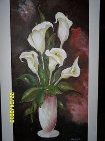 Malerei, Vase