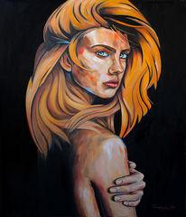Portrait, Erotik, Unschuld, Körper