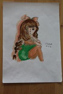 Copic, Illustrationen, Copic marker, Mädchen