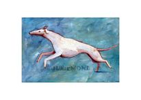 Windhund, Hund, Mischtechnik