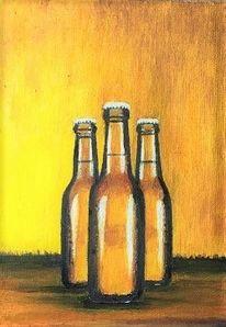 Kühlen, Bier, Flasche, Erfrischung