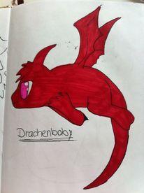 Drache, Zeichnungen