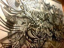 3d, Fantasie, Skurril, Zeichnungen