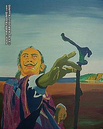 Dalí, Surreal, Port lligat, Portrait