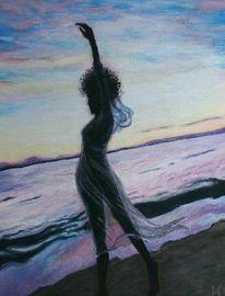 Malerei, Meer, Tanz