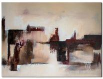 Bordeaux, Acrylmalerei, Abstrakt, Wandbilder