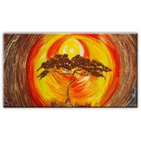 Kunstdruck, Bonsai, Abstrakt, Malerei