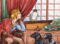 Vogel, Jagd, Falknerei, Mittelalter