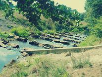 Fluss, Natur, Wasser, Stein