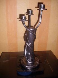 Kerzenständer, Eisen, Kunsthandwerk