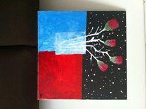 Blumen, Pflanzen, Weltall, Rose