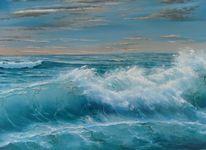 Morgenwind, Weiß, Meer, Landschaft