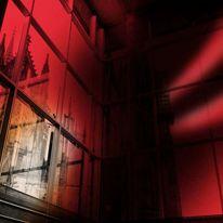 Fenster, Dom, Rot, Fotografie