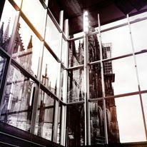 Cotografie, Spiegelung, Dom, Stadt