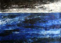 Wolken, Himmel, Malerei, Sturm