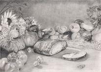 Zeichenpapier, Erntedankfest, Ernte, Pilze