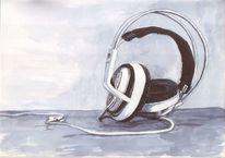 Hören, Zuhören, Musik, Kopfhörer