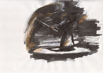 Leben, Gegenwart, Schwarz weiß, Zeichnung